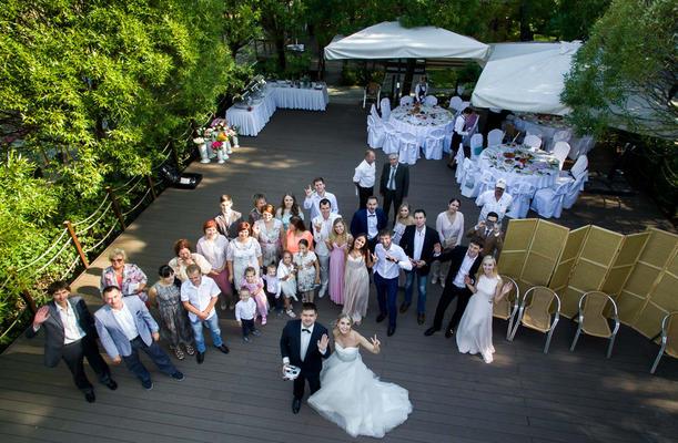 Видео свадьба с квадрокоптера квадрокоптеры dji phantom 3 – официальный дилер